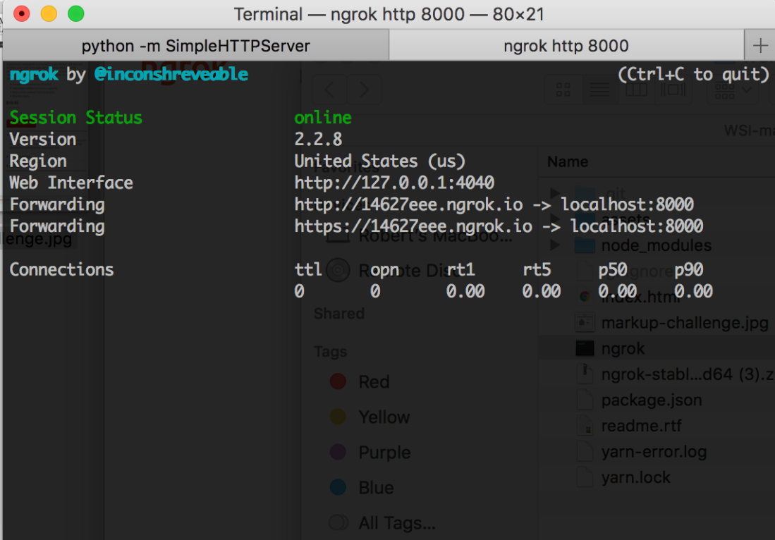 Allow Chrome Extensions to Work on your Local Environment using